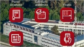 Imagen de la nueva app de la facultad de Informática