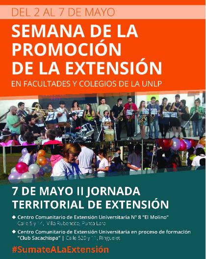 Imagen póster semana de la promoción de la extención